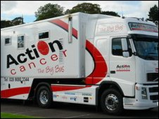 Action Cancer's Big Bus offers a range of services