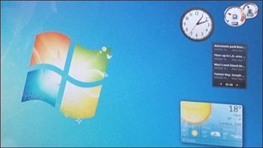 Windows 7 startup screen