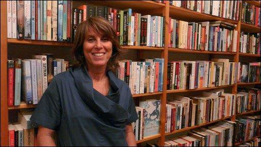 Patrizia in Almost Corner Bookshop
