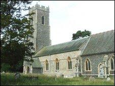 Campsea Ashe church