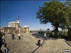 The Greenwich Prime Meridian today