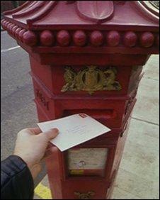 Letter box, BBC