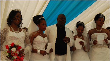 Mr Mbele and his wives