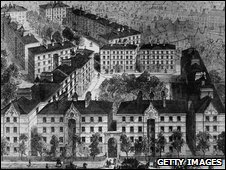 Drawings of Peabody Huosing 1850