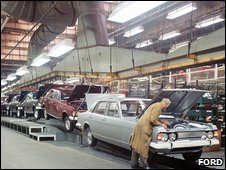 Ford production line