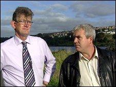 John McCourt and Darragh MacIntyre