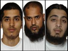 Adam Khatib, Mohammed Shamin Uddin and Nabeel Hussain