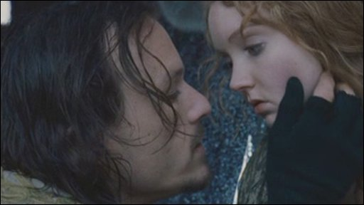 Heath Ledger and Lily Cole star in The Imaginarium of Dr Parnassus