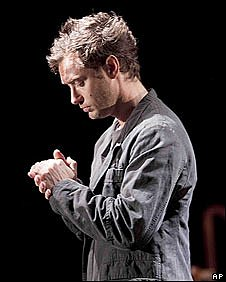 Jude Law as Hamlet