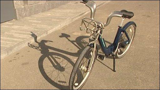 London hire bike