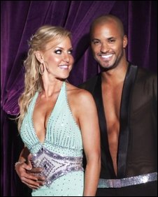 Ricky Whittle and Natalie Lowe