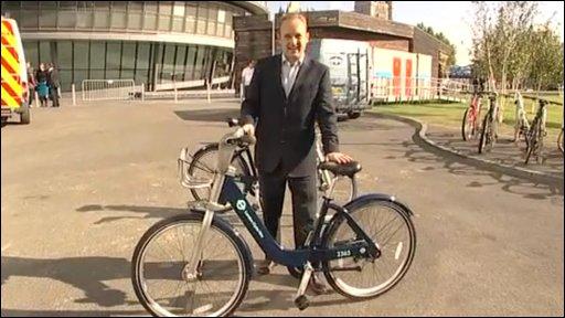London's new hire bike