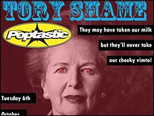 Labour 'Tory shame' poster