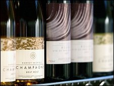 Harvey Nichols champagne