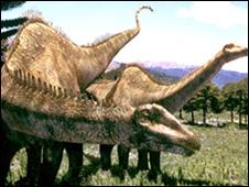 Diplodocus (artist's impression) - a type of sauropod