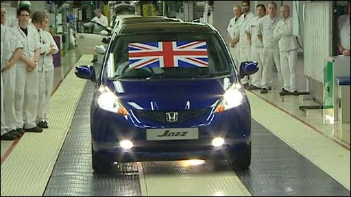 The first British made Honda Jazz
