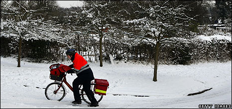 Postman in Hampshire