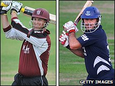 Marcus Trescothick and Michael Yardy