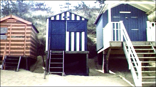 Still from British Beach Hut Miscellany by Sue White