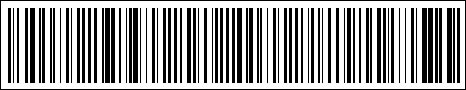Barcode saying 'The rise of the barcode' in code 128