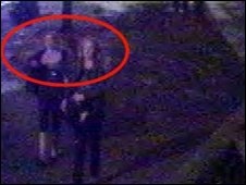 CCTV image of two women