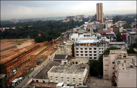 MG Road development