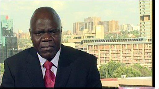 Arthur Mutambara - deputy prime minister, Zimbabwe