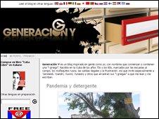 Generacion Y homepage
