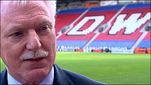 Wigan chairman Ian Lenagan