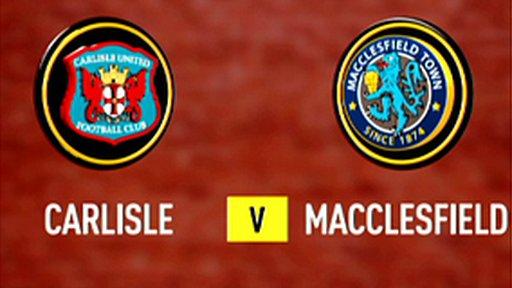 Carlisle 4-2 Macclesfield