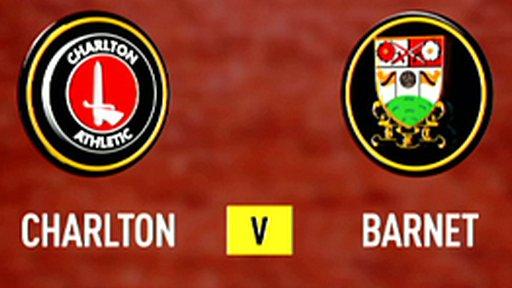 Charlton 4-1 Barnet