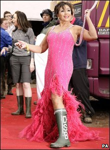 Shirley Bassey at Glastonbury