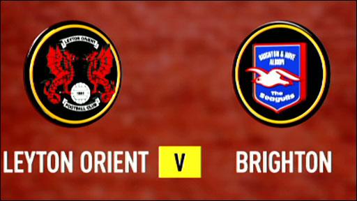 Leyton Orient v Brighton