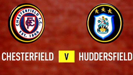 Chesterfield 3-3 Huddersfield (4-2 pens)