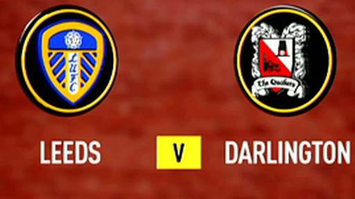 Leeds United 2-1 Darlington