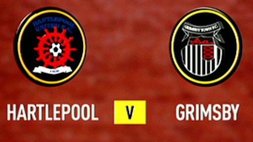 Hartlepool 0-2 Grimsby