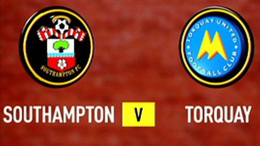 Southampton 2-2 Torquay (5-3 pens)