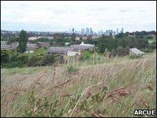 Grassland surrouding Melbourne
