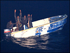Captured pirates (French defence ministry)
