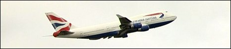A British Airways Boeing 747