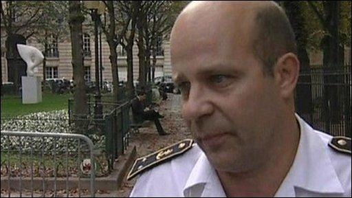 French military spokesman Admiral Christophe Prazuck