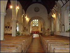 Interior of St Mary The Virgin