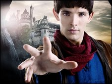 Colin Morgan as Merlin in the BBC One series