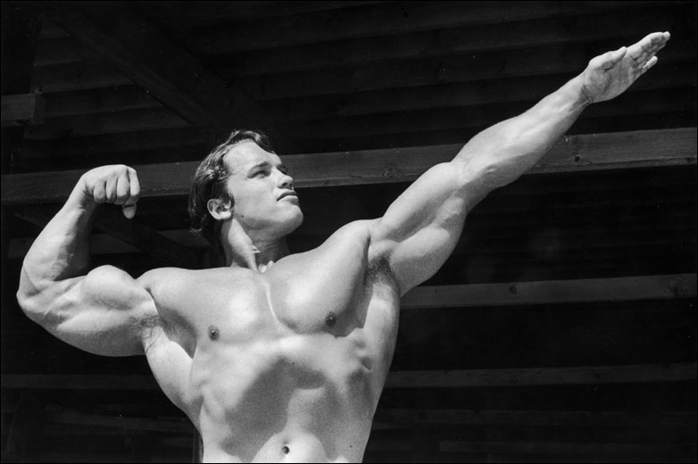 arnold schwarzenegger workout photos. Bodybuilding Arnold
