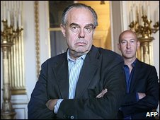 France's Culture Minister Frederic Mitterrand