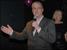 Ian Dale and Margot James