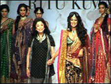 Bridal wear is not as flamboyant as it was during the economic boom.