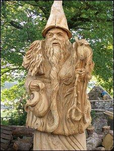 Statue of Merlin