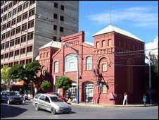 Asociacion San David building in Trelew