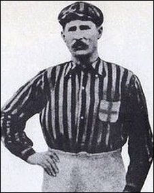 Herbert Kilpin in his AC Milan kit during the 1890s